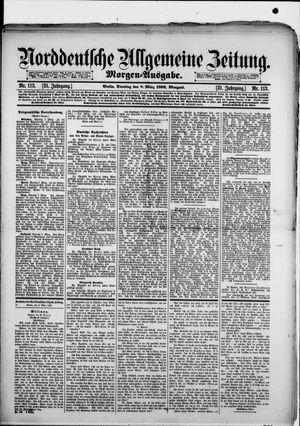 Norddeutsche allgemeine Zeitung vom 08.03.1892