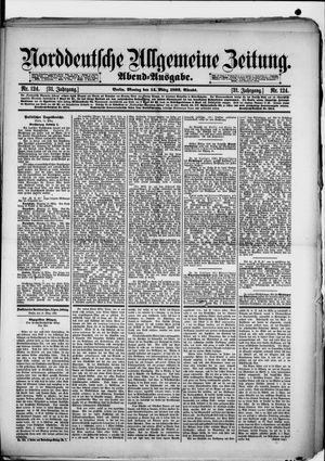 Norddeutsche allgemeine Zeitung vom 14.03.1892