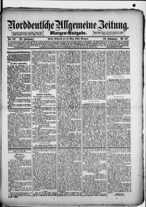 Norddeutsche allgemeine Zeitung vom 16.03.1892