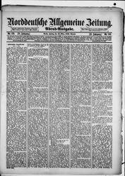 Norddeutsche allgemeine Zeitung (18.03.1892)