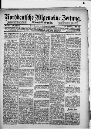 Norddeutsche allgemeine Zeitung vom 19.03.1892