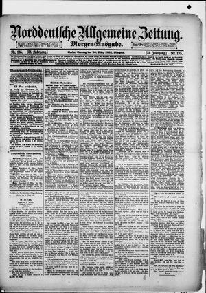 Norddeutsche allgemeine Zeitung vom 20.03.1892