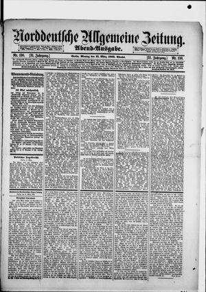 Norddeutsche allgemeine Zeitung on Mar 21, 1892