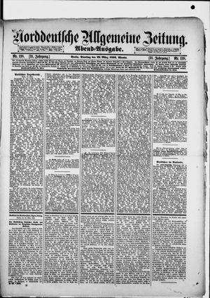 Norddeutsche allgemeine Zeitung vom 22.03.1892