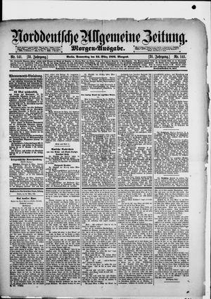 Norddeutsche allgemeine Zeitung vom 24.03.1892