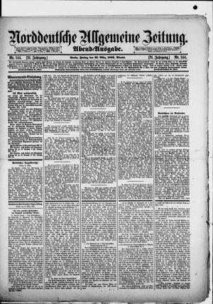 Norddeutsche allgemeine Zeitung on Mar 25, 1892