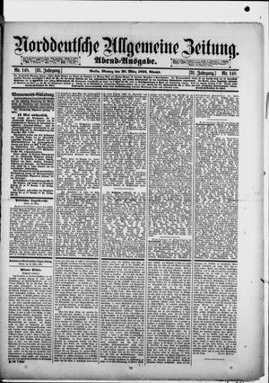 Norddeutsche allgemeine Zeitung vom 28.03.1892