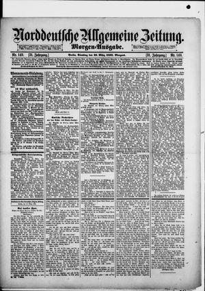 Norddeutsche allgemeine Zeitung vom 29.03.1892
