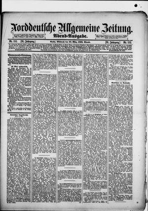 Norddeutsche allgemeine Zeitung vom 30.03.1892