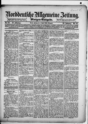 Norddeutsche allgemeine Zeitung vom 01.04.1892