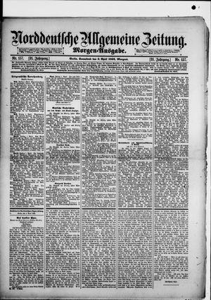 Norddeutsche allgemeine Zeitung vom 02.04.1892