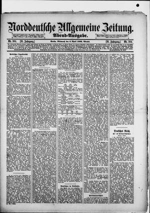 Norddeutsche allgemeine Zeitung vom 06.04.1892