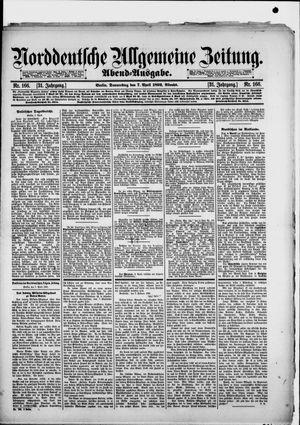 Norddeutsche allgemeine Zeitung vom 07.04.1892