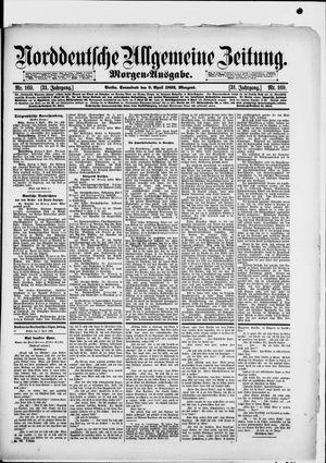 Norddeutsche allgemeine Zeitung vom 09.04.1892