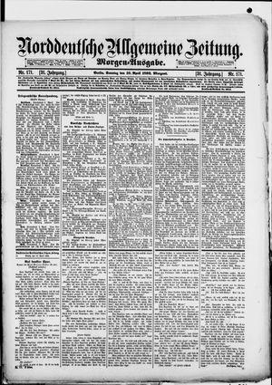 Norddeutsche allgemeine Zeitung vom 10.04.1892