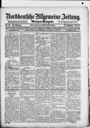 Norddeutsche allgemeine Zeitung vom 12.04.1892