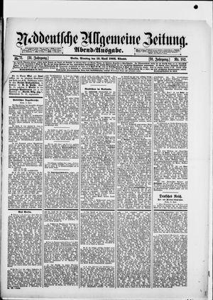 Norddeutsche allgemeine Zeitung vom 19.04.1892