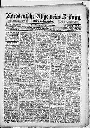 Norddeutsche allgemeine Zeitung vom 20.04.1892