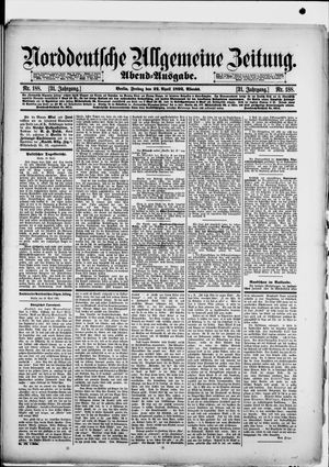 Norddeutsche allgemeine Zeitung vom 22.04.1892