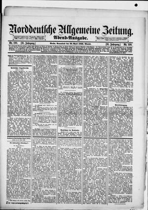 Norddeutsche allgemeine Zeitung on Apr 23, 1892