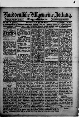 Norddeutsche allgemeine Zeitung vom 26.04.1892