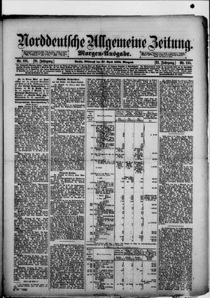 Norddeutsche allgemeine Zeitung on Apr 27, 1892