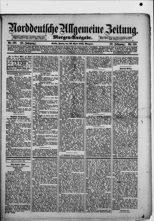 Norddeutsche allgemeine Zeitung vom 29.04.1892