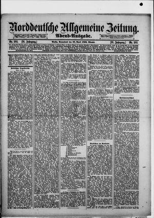 Norddeutsche allgemeine Zeitung vom 30.04.1892