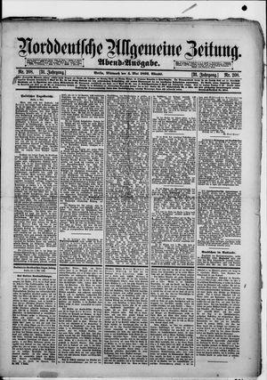 Norddeutsche allgemeine Zeitung vom 04.05.1892