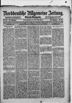 Norddeutsche allgemeine Zeitung vom 05.05.1892
