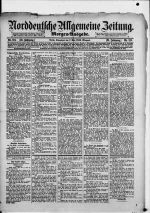 Norddeutsche allgemeine Zeitung vom 07.05.1892