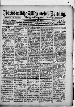 Norddeutsche allgemeine Zeitung vom 08.05.1892