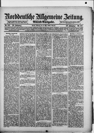 Norddeutsche allgemeine Zeitung vom 09.05.1892