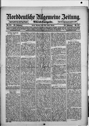 Norddeutsche allgemeine Zeitung on May 10, 1892