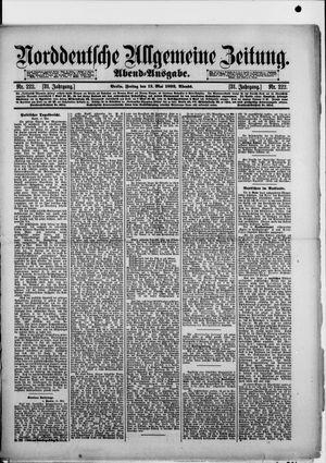 Norddeutsche allgemeine Zeitung vom 13.05.1892