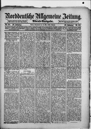 Norddeutsche allgemeine Zeitung vom 14.05.1892