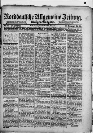 Norddeutsche allgemeine Zeitung vom 15.05.1892