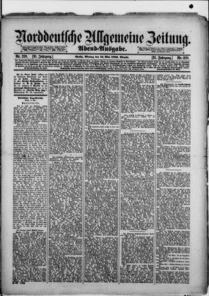 Norddeutsche allgemeine Zeitung vom 16.05.1892