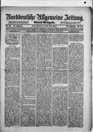 Norddeutsche allgemeine Zeitung vom 18.05.1892