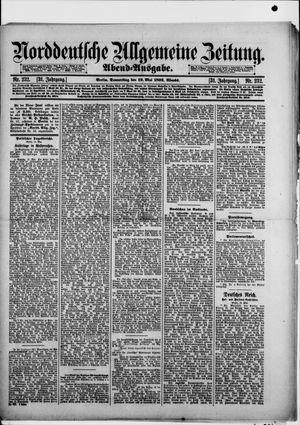 Norddeutsche allgemeine Zeitung vom 19.05.1892