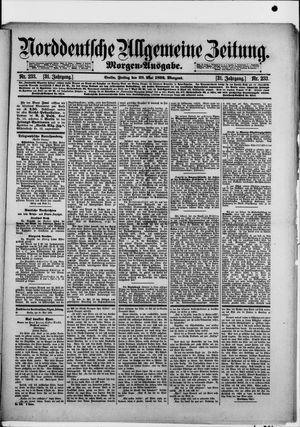 Norddeutsche allgemeine Zeitung vom 20.05.1892