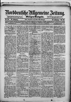 Norddeutsche allgemeine Zeitung vom 21.05.1892