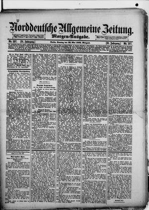 Norddeutsche allgemeine Zeitung vom 22.05.1892