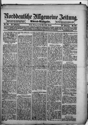 Norddeutsche allgemeine Zeitung vom 23.05.1892