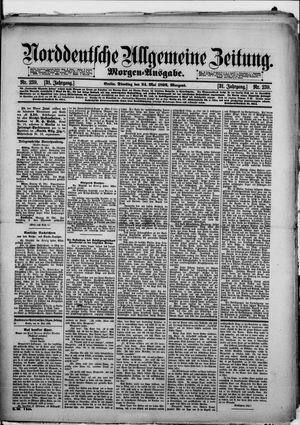 Norddeutsche allgemeine Zeitung vom 24.05.1892
