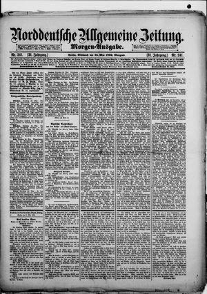 Norddeutsche allgemeine Zeitung vom 25.05.1892