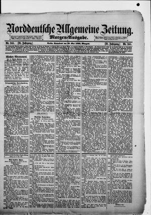 Norddeutsche allgemeine Zeitung vom 28.05.1892