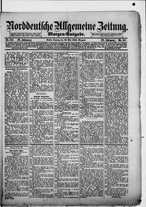 Norddeutsche allgemeine Zeitung vom 29.05.1892