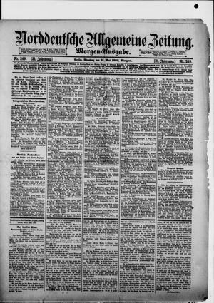 Norddeutsche allgemeine Zeitung on May 31, 1892