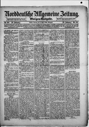 Norddeutsche allgemeine Zeitung vom 05.06.1892